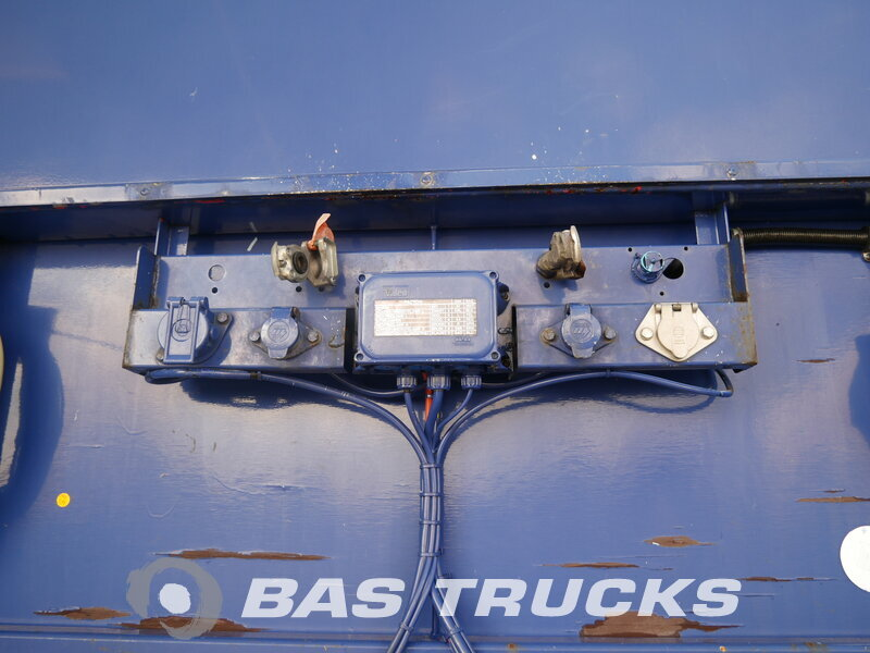 photo of Used Semi-trailer Pacton 2x Liftachse Hartholtz-Bodem T3-001 3 Axels 2001