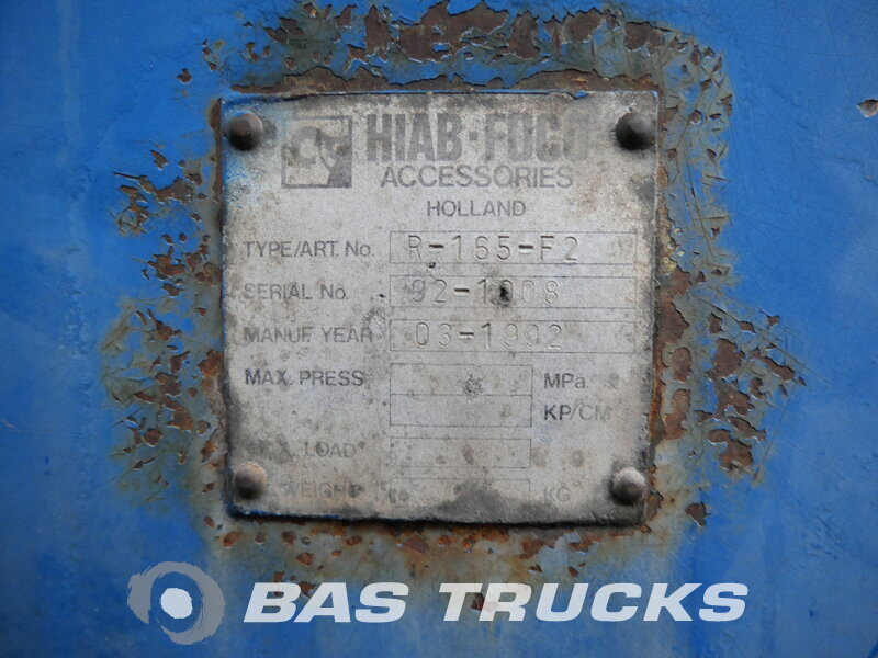 photo of Used Semi-trailer Pacton T3 003 2x Lenkachse R165F2 Rollerkan. 3 Axels 1999
