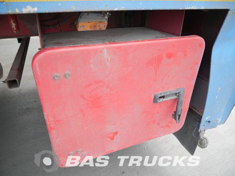 photo of Used Semi-trailer Schmidt-Hagen Ausziebar Bis 20m28 Tüv Gepflegt! Liftachse 2x Lenkachse SP/45/E/13,5-20,1 3 Axels 2001
