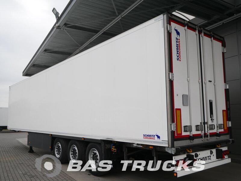 photo of Used Semi-trailer Schmitz Doppelstock Palettenkasten SCB*S3B Axels 2017