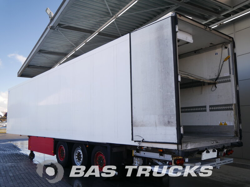photo of Used Semi-trailer Schmitz Doppelverdampfer Trennwand Ladebordwand SKO24 Axels 2010