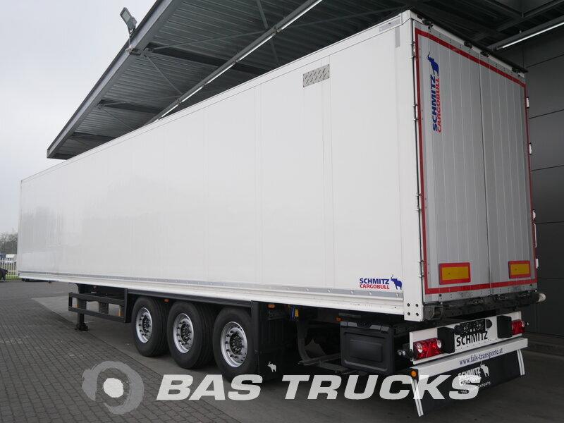 photo of Used Semi-trailer Schmitz Liftachse Doppelstock SCB*S3B Axels 2014