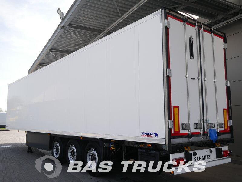 photo of Used Semi-trailer Schmitz Palettenkasten SCB*S3B Axels 2017