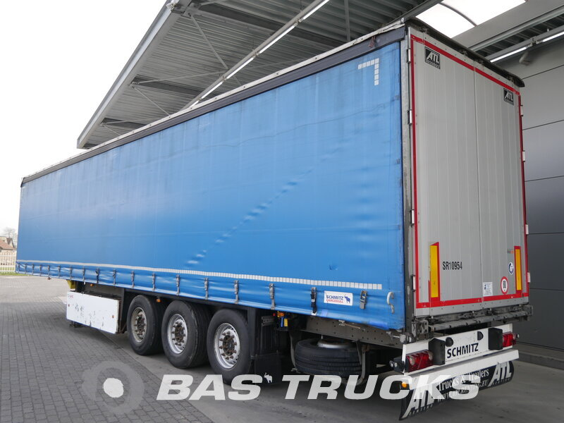 photo of Used Semi-trailer Schmitz Palettenkasten SCB*S3T Axels 2013