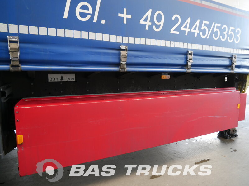 photo of Used Semi-trailer Schmitz Verbreitbar Hubdach Coil Liftachse Axels 2011