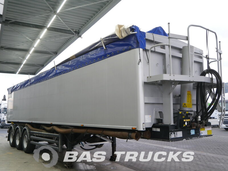 photo of Used Semi-trailer Stas 53m3 SA340K Axels 2008