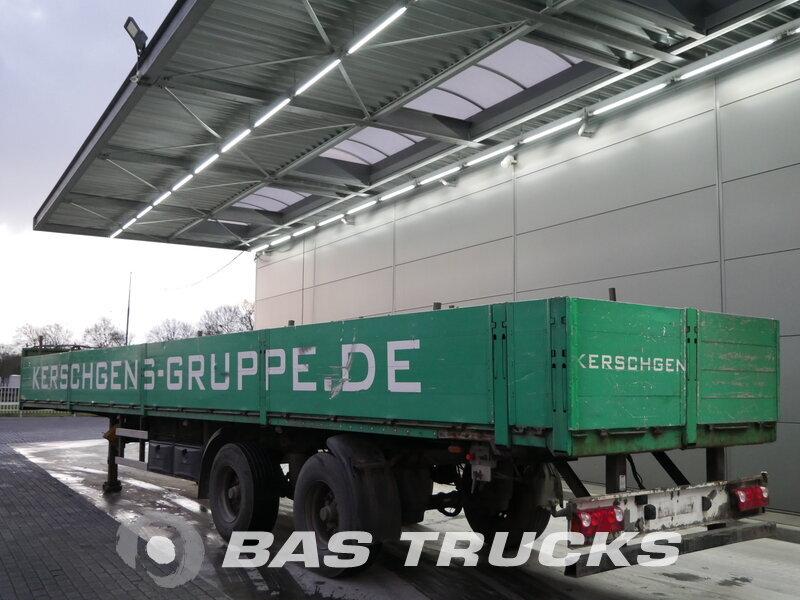 photo of Used Semi-trailer TANG KARL Lenkachse 2 Axels 2004
