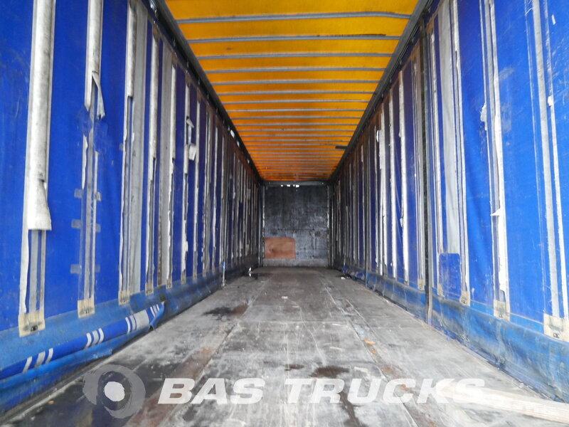 photo of Used Semi-trailer Van Hool Mega Hubdach 3B2003 Axels 1998