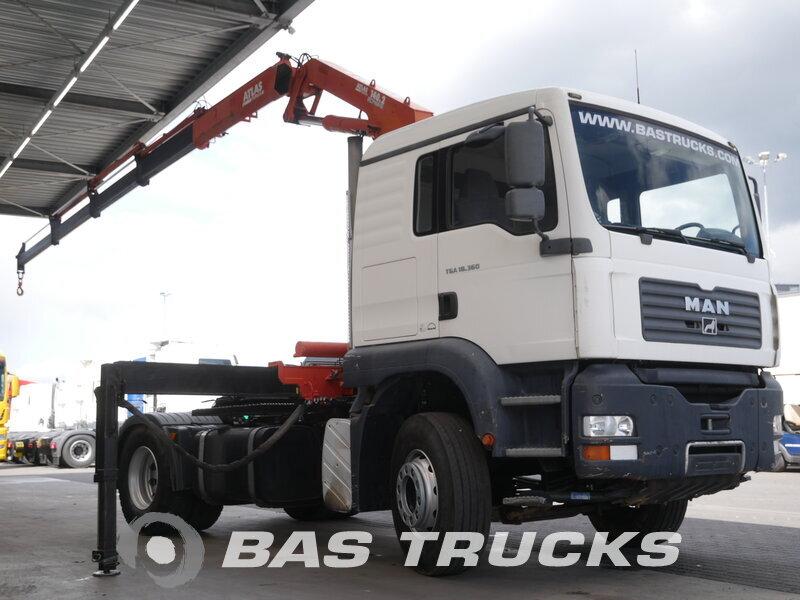 photo of Used Tractorhead MAN TGA 18.360 L 4X2 2003