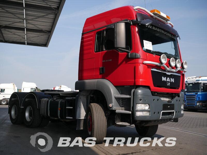 photo of Used Tractorhead MAN TGS 33.540 LX 6X6 2012