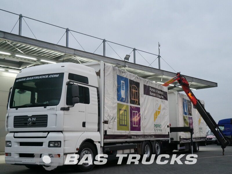 photo of Used Truck + Trailer MAN TGA 26.430 XXL 6X2 2007