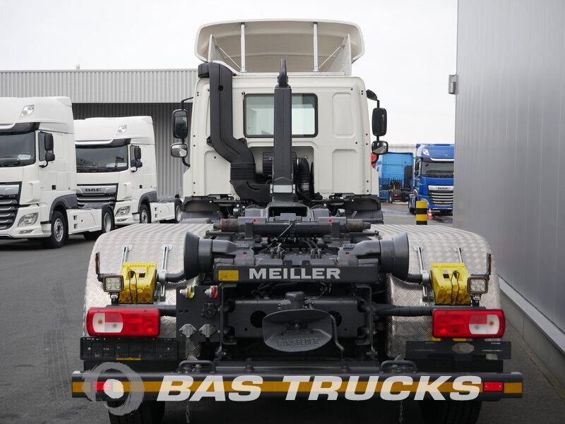 photo of Used Truck DAF FAN CF 400 DC BTS PCC - Meiller Abrollkipper RS 21.70 6X2 2018