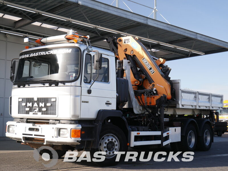 photo of Used Truck MAN F90 26.370 6X4 1992