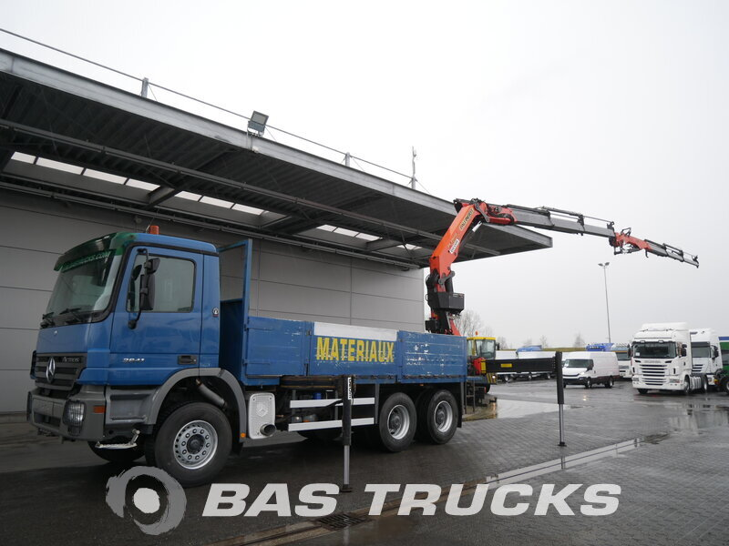 photo of Used Truck Mercedes Actros 2641 K 6X4 2005