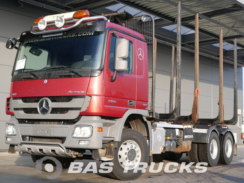 photo of Used Truck Mercedes Actros 3355 6X4 2012