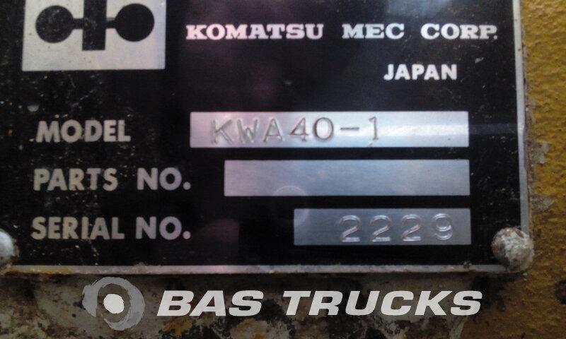 photo of Used Various Komatsu WA 600 2 Assen 1970